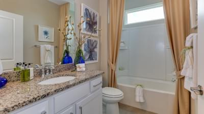 Chesapeake Homes -  The Boardwalk Downstairs Bath
