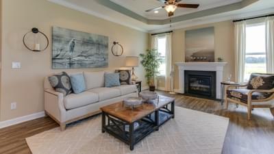 Chesapeake Homes -  The Shorebreak Great Room