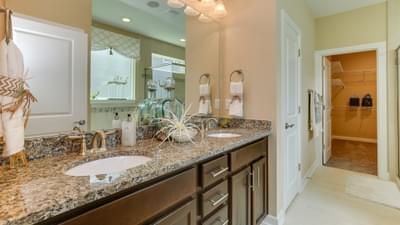 Chesapeake Homes -  The Shorebreak Owner's Bath