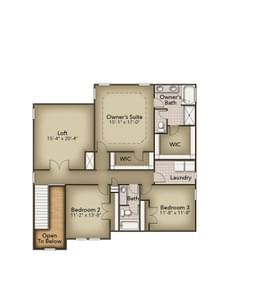 Chesapeake Homes -  The Aria Second Floor