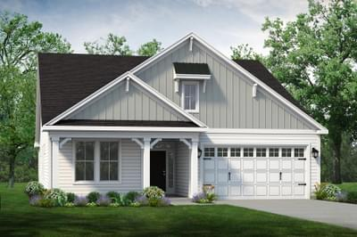 Chesapeake Homes -  The Boardwalk Elevation F