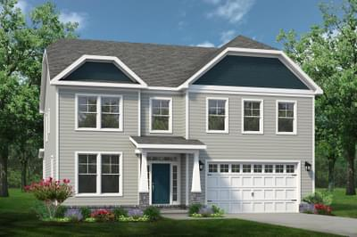 Chesapeake Homes -  The Sierra Elevation A
