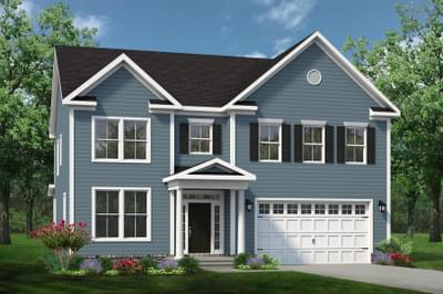 Chesapeake Homes -  The Sierra Elevation B