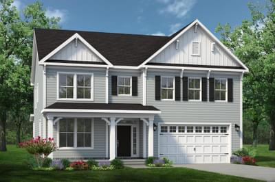 Chesapeake Homes -  The Sierra Elevation F