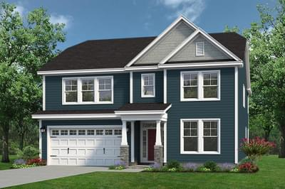 Chesapeake Homes -  The Everest Elevation A