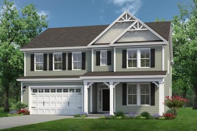Chesapeake Homes -  The Everest Elevation F