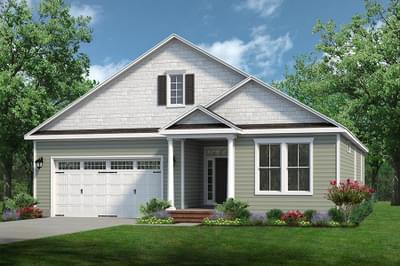Chesapeake Homes -  The Mandolin Elevation B
