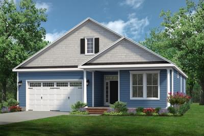 Chesapeake Homes -  The Mandolin Elevation B-Optional Full Front Porch