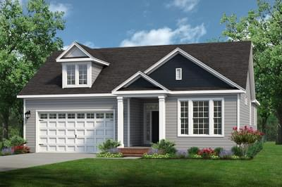 Chesapeake Homes -  The Mandolin Elevation C