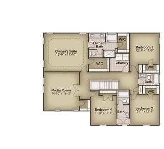 Chesapeake Homes -  The Harmony Second Floor