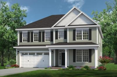 Chesapeake Homes -  The Arietta Elevation C