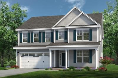 Chesapeake Homes -  The Arietta Elevation D