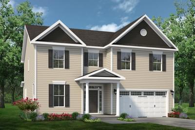 Chesapeake Homes -  The Concerto Elevation B