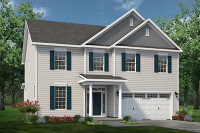 Chesapeake Homes -  The Concerto Elevation C