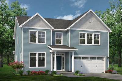 Chesapeake Homes -  The Concerto Elevation D