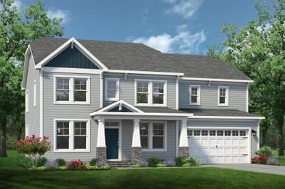 Chesapeake Homes -  The Roseleigh Elevation A