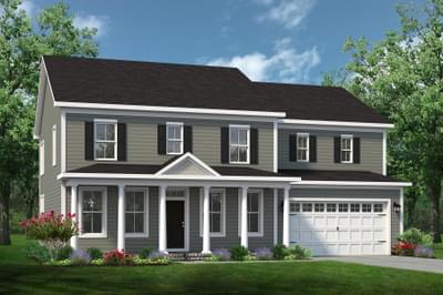 Chesapeake Homes -  The Roseleigh Elevation B