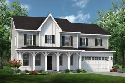 Chesapeake Homes -  The Roseleigh Elevation F