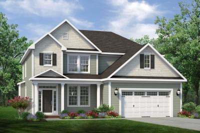 Chesapeake Homes -  The Aria Elevation C