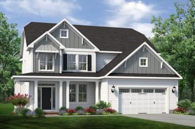 Chesapeake Homes -  The Aria Elevation D