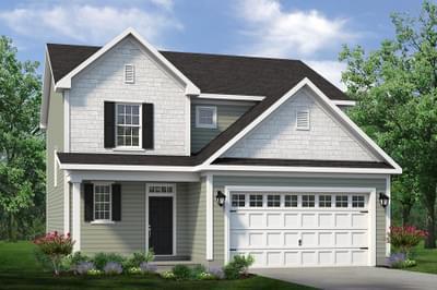 Chesapeake Homes -  The Maple Elevation C