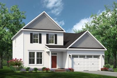 Chesapeake Homes -  The Melody Elevation B