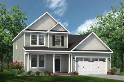 Chesapeake Homes -  The Melody Elevation D