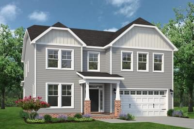 Chesapeake Homes -  The Persimmon Elevation A