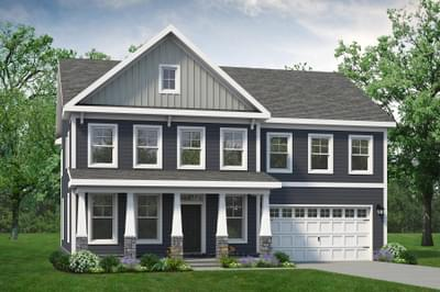 Chesapeake Homes -  The Azalea Elevation A