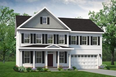 Chesapeake Homes -  The Azalea Elevation B