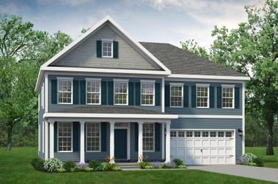 Chesapeake Homes -  The Azalea Elevation C