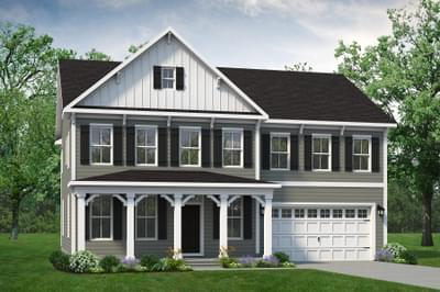 Chesapeake Homes -  The Azalea Elevation F
