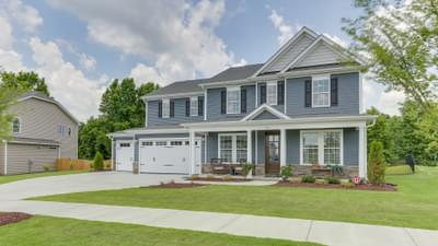 Chesapeake Homes -  The Violet Exterior