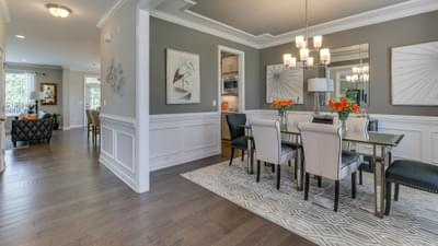 Chesapeake Homes -  The Violet - Crawl Space Dining Room