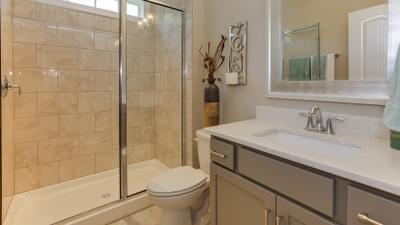 Chesapeake Homes -  The Violet Full Downstairs Bathroom