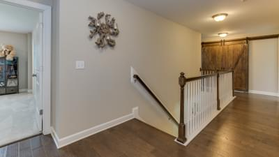 Chesapeake Homes -  The Violet - Crawl Space Upstairs Hallway