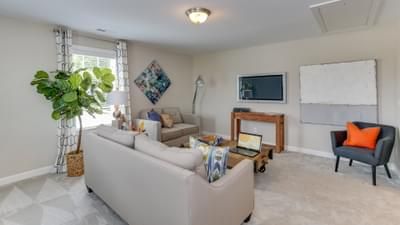 Chesapeake Homes -  The Violet Recreation Room