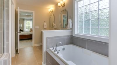 Chesapeake Homes -  The Violet - Crawl Space Owner's Bath