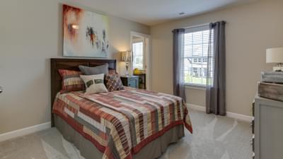 Chesapeake Homes -  The Violet Bedroom 4