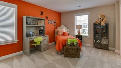 Chesapeake Homes -  The Violet - Crawl Space Bedroom 2