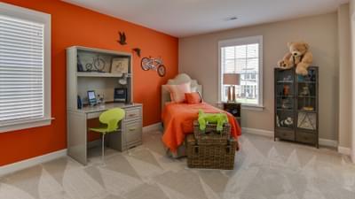 Chesapeake Homes -  The Violet Bedroom 2