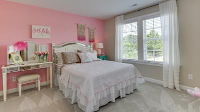 Chesapeake Homes -  The Violet - Crawl Space Bedroom 3