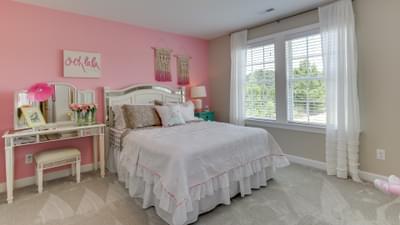Chesapeake Homes -  The Violet Bedroom 3