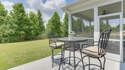 Chesapeake Homes -  The Violet Rear Patio