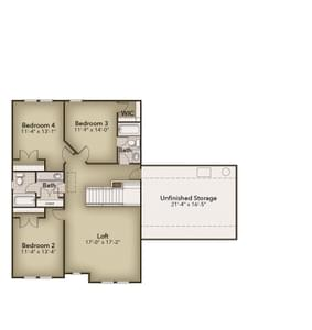 Chesapeake Homes -  The Lilac Second Floor