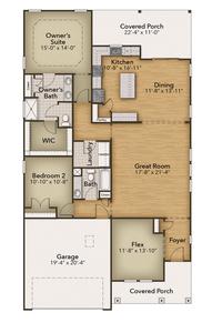 Chesapeake Homes -  3126 Balboa Lane, Little River, SC 29566