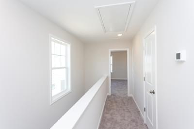 Chesapeake Homes -  The Sage Upstairs Hallway