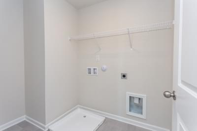 Chesapeake Homes -  The Sage Laundry Room