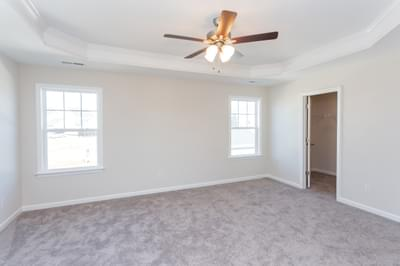 Chesapeake Homes -  The Sage Owner's Suite