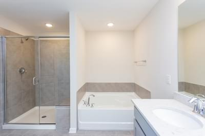 Chesapeake Homes -  The Sage Owner's Bath